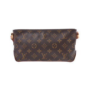 Louis Vuitton Monogram Trotor Brown M51240 Ladies Genuine Leather Shoulder Bag A rank LOUIS VUITTON Used Ginzo