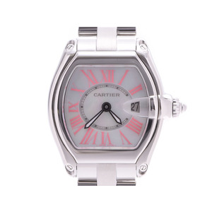 Cartier Roadster SM Christmas Limited Shell Dial Men's Ladies SS Quartz Watch A Rank CARTIER Used Ginzo
