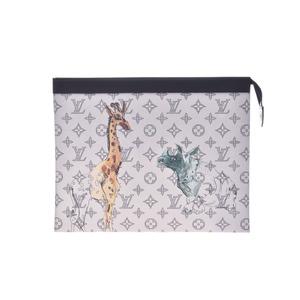 Louis Vuitton Monogram savannah Pochette Voyager M66929 Men's Women's Clutch Bag New Tongue Beauty Product LOUIS VUITTON Ginzo
