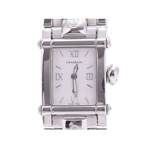 フィリップシャリオール コロンブス 白文字盤 CCSTRM SS クオーツ 腕時計 Bランク PHILIPPE CHARRIOL 中古 銀蔵