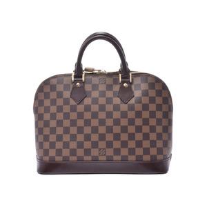 ルイ・ヴィトン(Louis Vuitton) ルイヴィトン ダミエ アルマ ブラウン N51131 レディース 本革 ハンドバッグ ABランク LOUIS VUITTON 中古 銀蔵