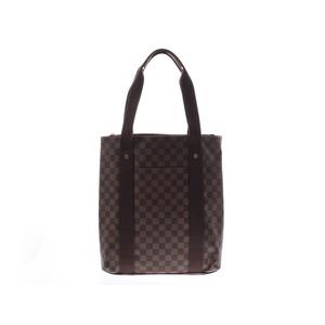 ルイ・ヴィトン(Louis Vuitton) ルイヴィトン ダミエ カバボブール ブラウン N52006 メンズ レディース 本革 トートバッグ Aランク LOUIS VUITTON 中古 銀蔵
