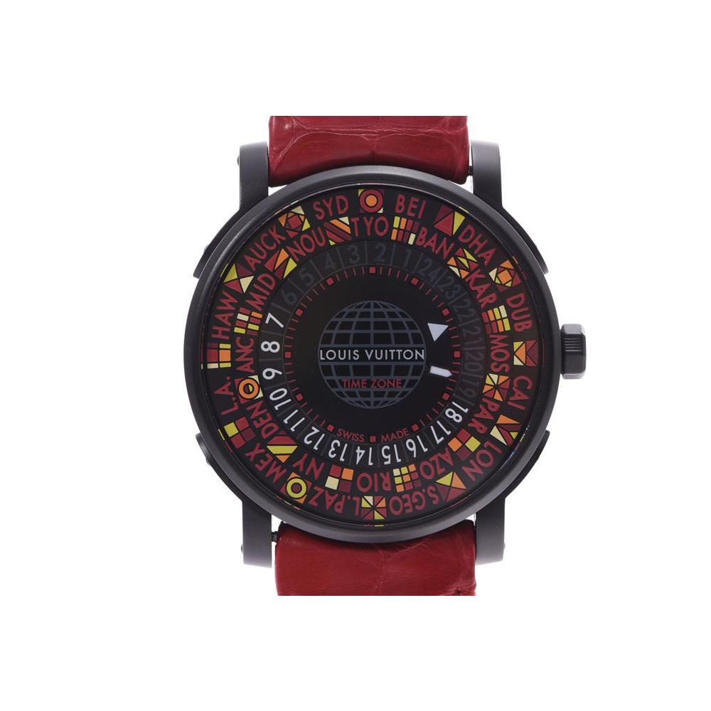 LOUIS VUITTON Escale Time Zone Japan LTD Edition Steel Automatic Watch Q5D230