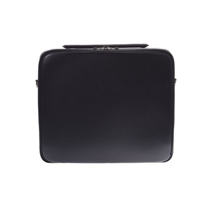 Louis Vuitton Taiga Odessa PC Case Black M30832 Men's Genuine Leather B Rank LOUIS VUITTON Strap with Used Ginzo