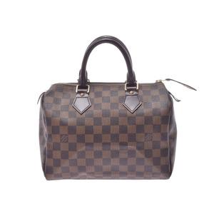 ルイ・ヴィトン(Louis Vuitton) ルイヴィトン ダミエ スピーディ25 ブラウン N41532 レディース 本革 ハンドバッグ ABランク LOUIS VUITTON 中古 銀蔵