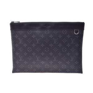 ルイ・ヴィトン(Louis Vuitton) ルイヴィトン エクリプス ポシェットアポロ 黒 M62291 メンズ クラッチバッグ Aランク 美品 LOUIS VUITTON 中古 銀蔵
