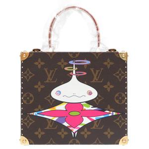 New like Louis Vuitton Monogram Onion Head Takashi Murakami Limited Jewelry Box M92476 Handbag Case LV 0213 LOUIS VUITTON