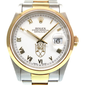 Rolex Datejust K18 YG / SS Nick Price 200 Limited 16203 Automatic Rolled Watch Combi Gold T-number 0240 ROLEX Men