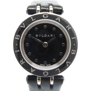 BVLGARI B-Zero1 BZERO1 Ceramic Quartz Watch BZ23SC Black 0145 BVLGARI Women