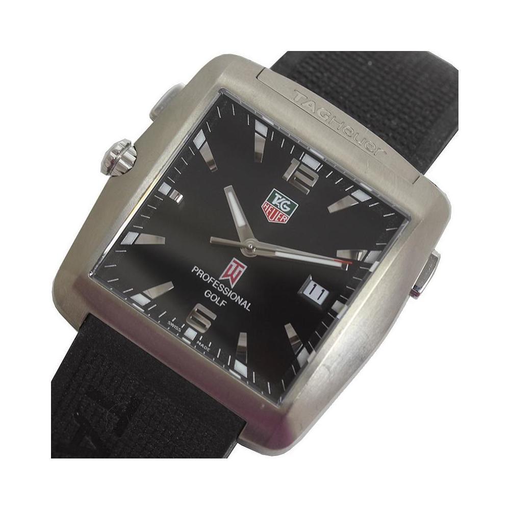 Tag Heuer TAG HEUER Golf Watch Tiger Woods model WAE1111.FT6004 8000 limited quartz men's watch