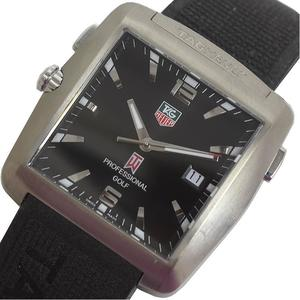 Tag Heuer TAG HEUER Golf Watch Tiger Woods model WAE1111.FT6004 8000 limited quartz men's watch