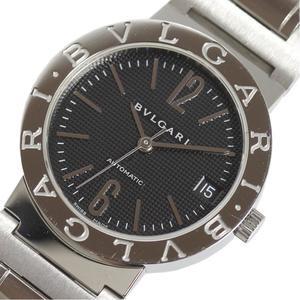 BVLGARI BB33SSAUTO Black Automatic Men's Watch