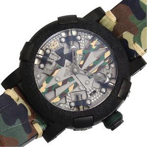 ロマン・ジェローム ROMAIN JEROME  スチームパンク オート カモフラージュ  RJ.M.AU.SP.009.01 限定25本 メンズ 腕時計