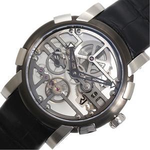 ロマン・ジェローム ROMAIN JEROME  スカイラブ スケルトン  RJ.M.AU.026.01 限定99本 手巻き メンズ 腕時計