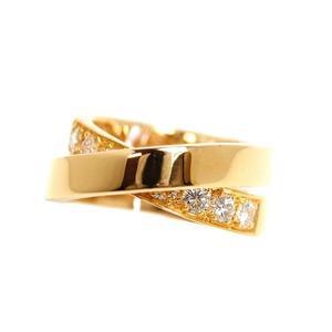 カルティエ(Cartier) カルティエ Cartier  パリリング  K18YG ダイヤモンド レディース 51 指輪 ジュエリー 仕上げ済み