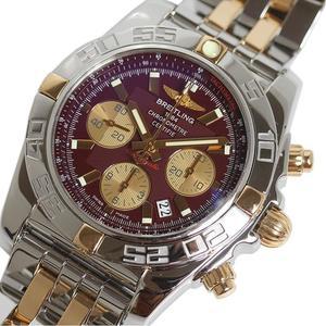 ブライトリング BREITLING  クロノマット44  IB0110 PG SS ワインレッド 自動巻き メンズ 腕時計