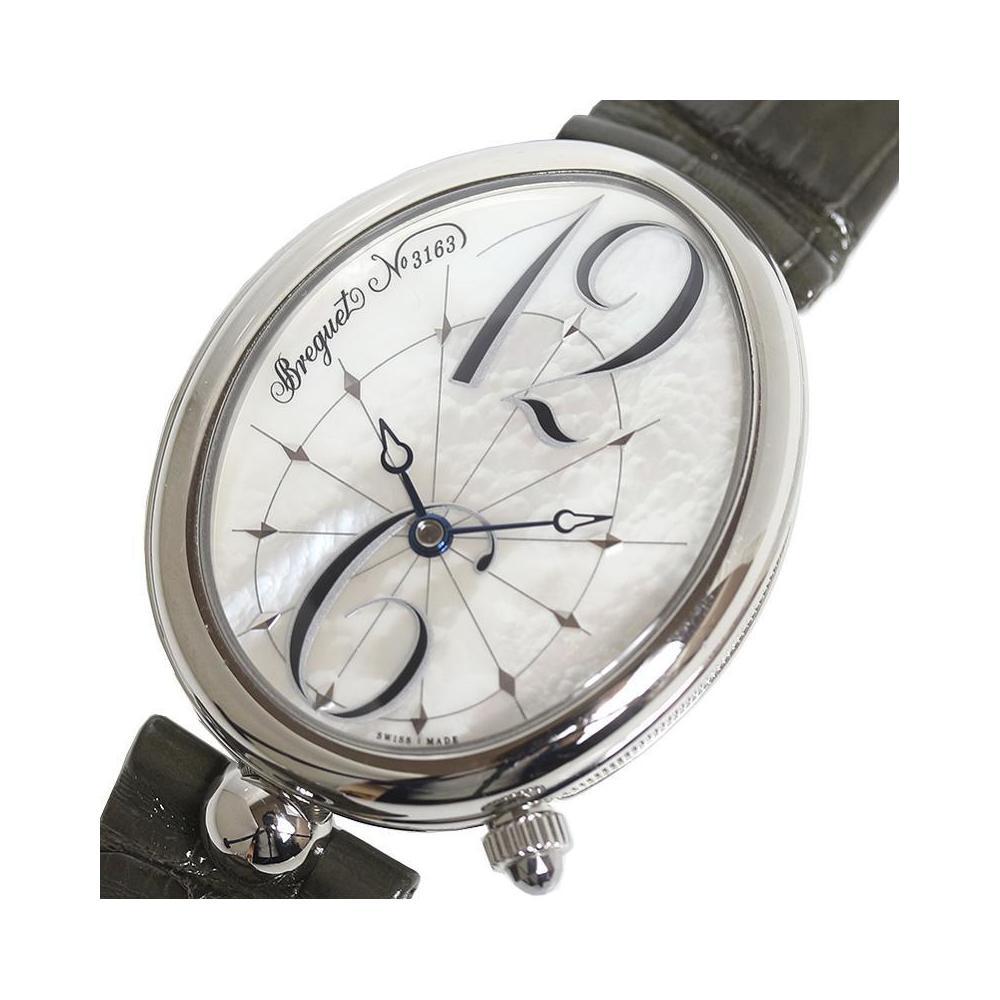 big sale a3edb 4035d ブレゲ Breguet クイーン・オブ・ネイプルズ G8967ST 58986 自動巻き マザーオブパール レディース 腕時計 | eLady.com