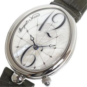 ブレゲ Breguet  クイーン・オブ・ネイプルズ  G8967ST 58986 自動巻き マザーオブパール レディース 腕時計