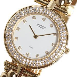 ヴァンクリーフ&アーペル Van Cleef & Arpels  スポーツ2  13107B2 金無垢 ダイヤベゼル クォーツ 腕時計