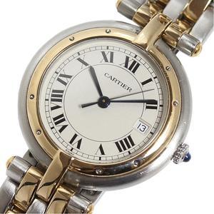 カルティエ Cartier  パンテール ヴァンドームLM 2ロウ  YG SS クォーツ メンズ レディース 腕時計