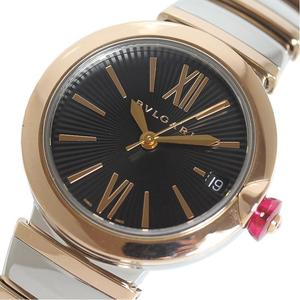 Bulgari BVLGARI Luca LU33BSPGSPGD Pink gold × Stainless steel Automatic winding ladies' watch