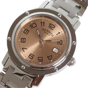 HERMES HERME'S Clipper CL6.410 Copper Quartz Ladies Mens Watch