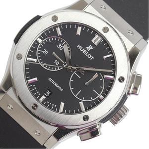 ウブロ HUBLOT  クラシックフュージョン  チタニウム クロノグラフ 521.NX.1171.RX チタン 自動巻き メンズ 腕時計