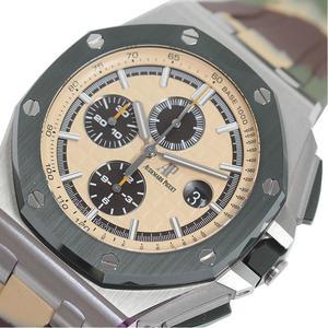 オーデマ・ピゲ AUDEMARS PIGUET  ロイヤルオークオフショア クロノグラフ  6400SO.OO.A054CA.01 カモフラージュ 自動巻き メンズ 腕時計