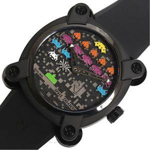 ロマン・ジェローム ROMAIN JEROME  スペースインベーダー  RJ.M.AU.IN.006.13 限定78本 自動巻き メンズ 腕時計
