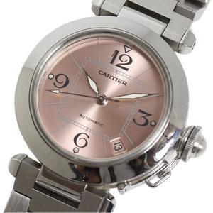 カルティエ Cartier  パシャC  W31075M7 ピンク 自動巻き レディース メンズ 腕時計