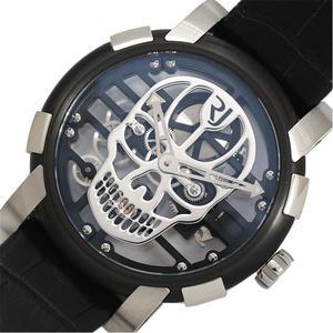 ロマン・ジェローム ROMAIN JEROME  スカイラブ48 ポリッシュ・スカル  RJ.M.AU.030.14 限定9本 自動巻き スケルトン メンズ 腕時計