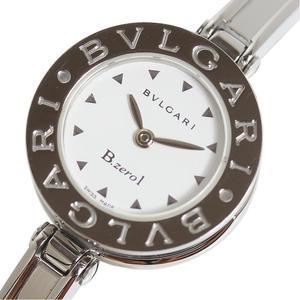 BVLGARI B-zero1 bangle watch M size BZ22S white quartz women