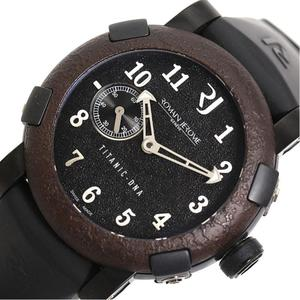 Roman ・ Jerome ROMAIN JEROME Titanic DNA T. OXY3. BBBB. 00. BB limited 2012 book automatic black men's watch