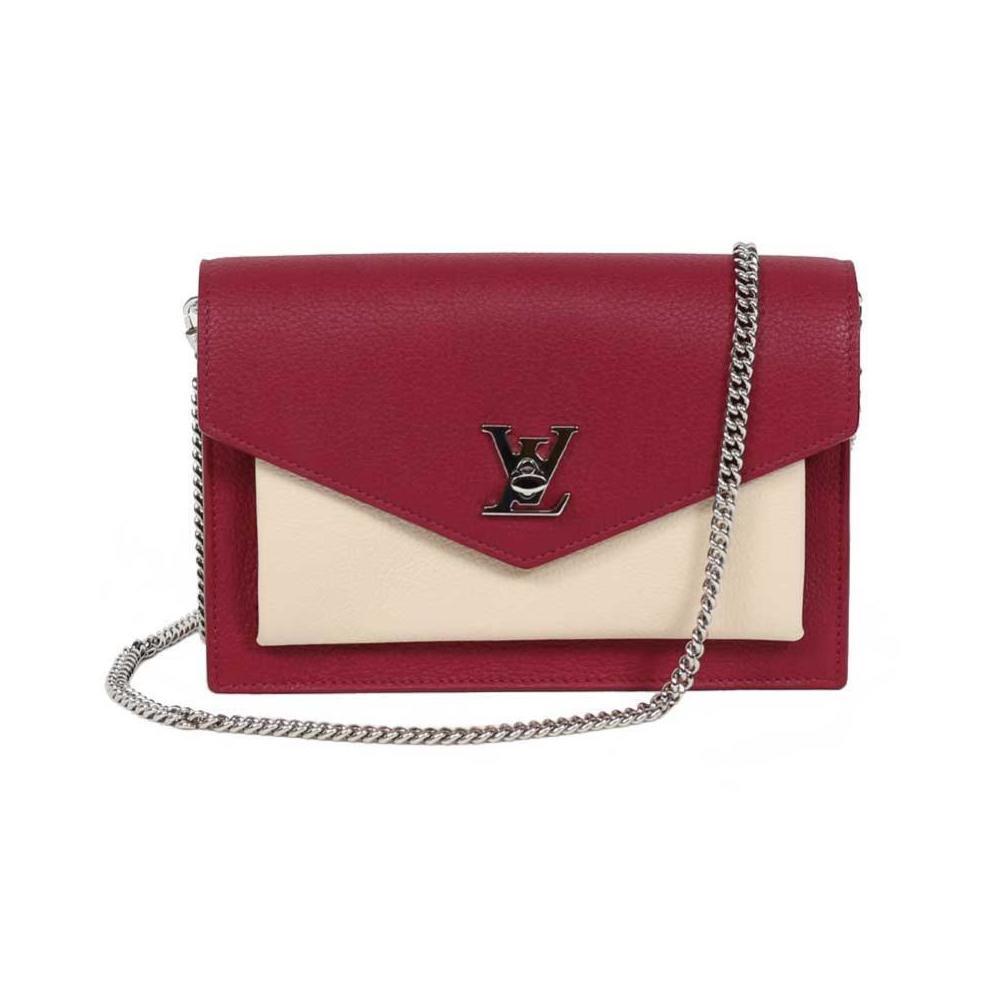 9a26fd7139 Louis Vuitton LV Pochette Lock Me Chain M63470 Shoulder Bag Ladies  LOUISVUITTON | eLady.com