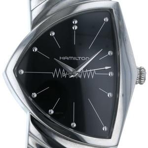 ハミルトン(Hamilton) ベンチュラ クォーツ ステンレススチール(SS) メンズ 腕時計 ベンチュラ 伸縮バンド