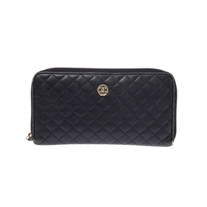 Chanel Matelasse Leather Wallet Black