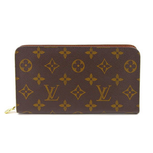 Genuine Louis Vuitton Monogram Porto Monezup Long wallet leather