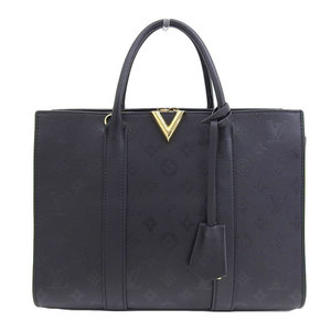 Genuine Louis Vuitton Very Tote MM Noir M42886 Leather