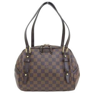 Genuine Louis Vuitton Damier Rivington PM Shoulder Bag Leather