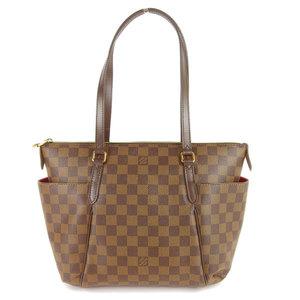Genuine Louis Vuitton Damier TOTALI PM Shoulder bag N41282 leather