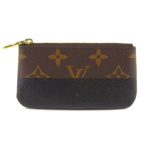 Genuine Louis Vuitton Monogram Pochette Creat Coin Purse Leather