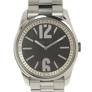 B Rakuichi Main Store ☆ Genuine BVLGARI Bulgari Solo Tempo Men's Quartz Watch ST42S