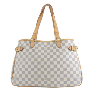 Genuine Louis Vuitton Damier Azul Batignol Horizontary Tote Bag N48172 Leather