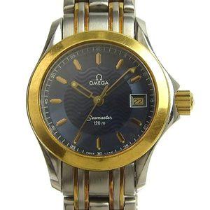 Genuine OMEGA Omega Seamaster Ladies Quartz Watch Combi