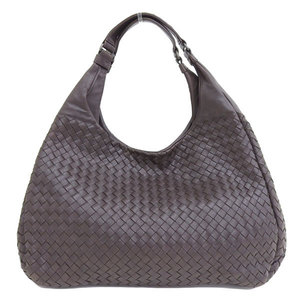 Genuine BOTTEGA VENETA Bottega Veneta Intrecciato Tote Bag Brown 124864 Leather