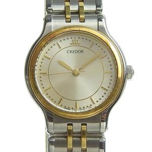 Authentic SEIKO Seiko Credor Ladies Quartz Watch 7371-0040
