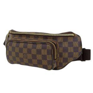 LOUIS VUITTON Louis Vuitton Bum Bag Melville Damier Ebene Waist Pouch Body Brown Tea N51172 20190705