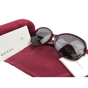 GUCCI Gucci Alessandro Michele Design Asian Model Tortoise-style Sunglasses Bordeaux Gold Boque style 20190712