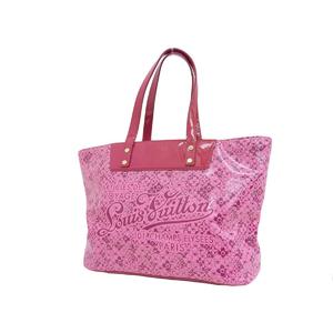 LOUIS VUITTON Louis Vuitton Cosmic PM Blossom Tote Bag PVC Rose Pink M93160 20190705