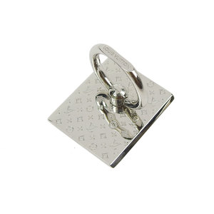 LOUIS VUITTON louis vuitton support telephone nanogram smartphone ring silver M67285 20190712